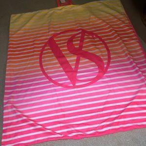 Victoria's Secret Travel Roll Up Beach Blanket